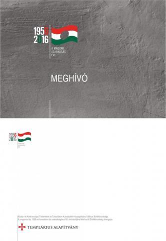 Meghívó - Család, Hit és Haza a forradalom idején címmel rendezendő K O N F E R E N C I Á N K R A
