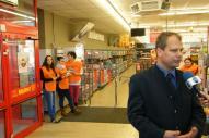 Élelmiszerbank adomány gyűjtés a Templárius Alapítvány segítségével