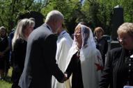 Czappán Györgyné sz. Várkonyi Magdolna dámánk temetése 2018. április 20.