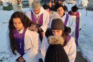 Érsek Barnabásné sz. Vass Beáta dáma temetése