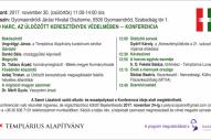 A JÓ HARC AZ ÜLDÖZÖTT KERESZTÉNYEK VÉDELMÉBEN - konferencia